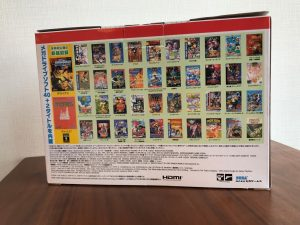 Mega Drive Mini - Box back