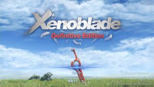Xenoblade interview - Definitve Edition title screen