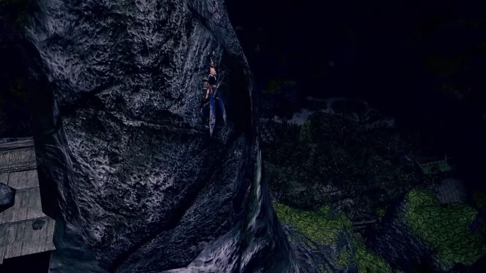 Monster Hunter Rise - Climbing