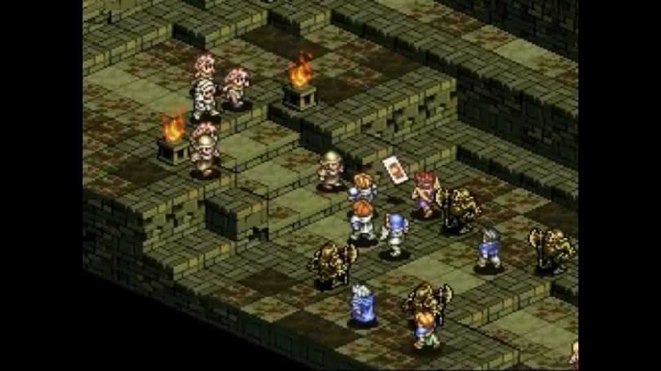 Tactics Ogre - Combat