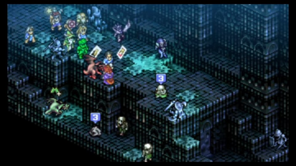 Tactics Ogre - Istana Orang Mati