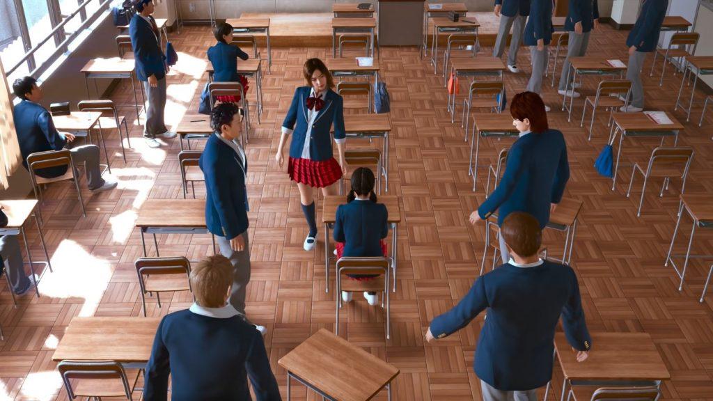 Lost Judgment - School