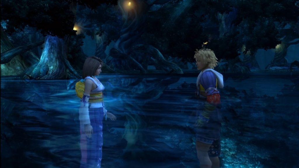 Final Fantasy X - Tidus and Yuna