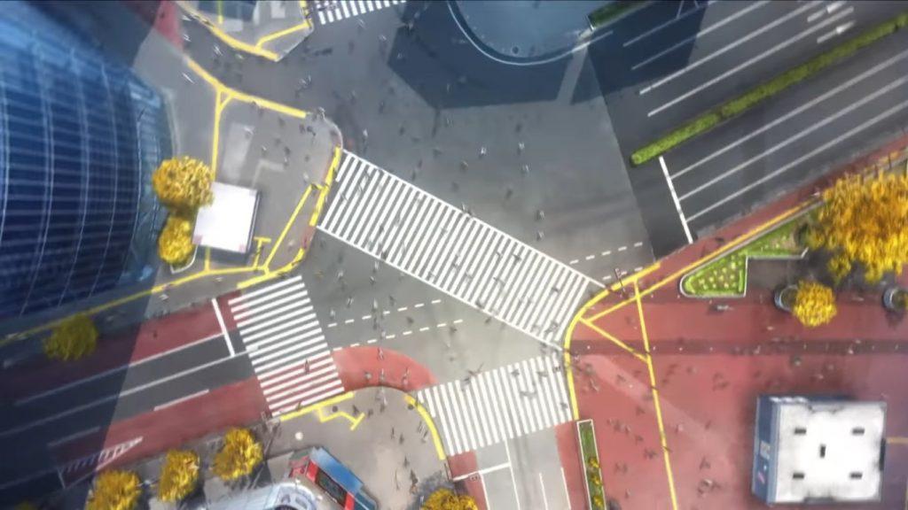 Tsukihime Remake - Shibuya Crossing
