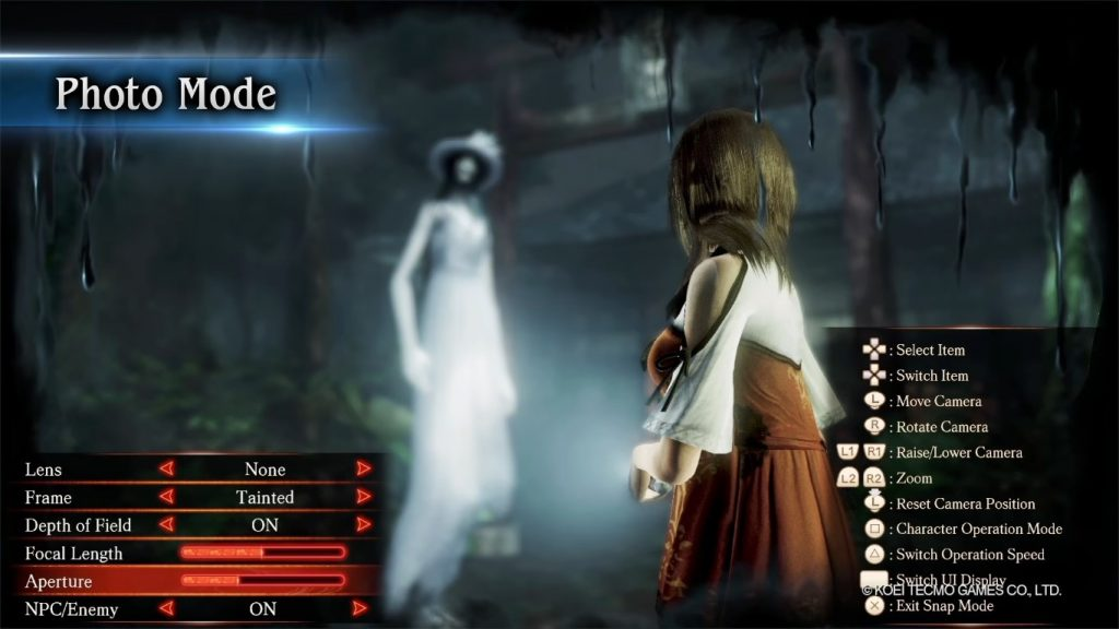 FATAL FRAME: Maiden of Black Water Remaster - Photo Mode
