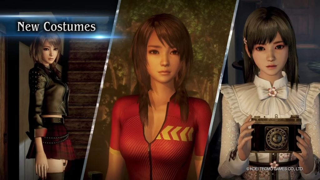 FATAL FRAME: Maiden of Black Water Remaster - New Costumes